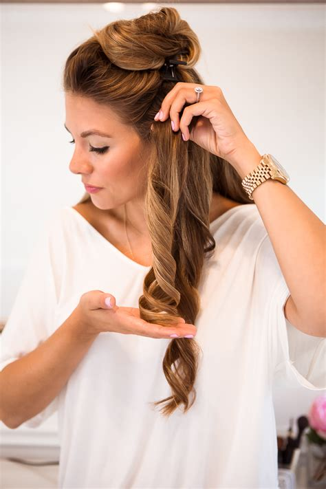 the hair of the how to make curls in easy way bhommali