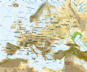 Map Of Europe Mountains by Caucasus Mountains Map Europe Viewing Gallery
