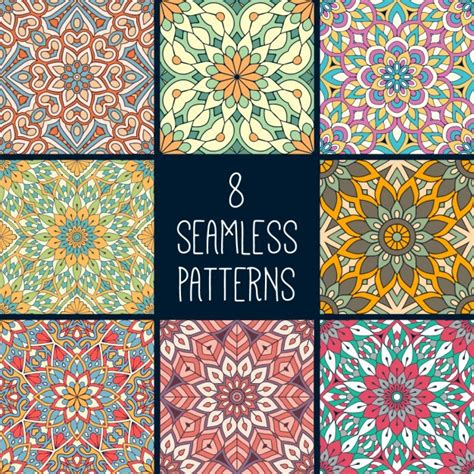 ethnic pattern vector free download eight ethnic patterns vector free download