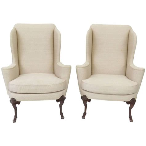 Wing Chair For Sale by Pair Of Baker Wing Chairs For Sale At 1stdibs