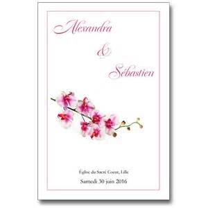 modã le livret de messe mariage livret messe de mariage coordonn 233 au faire part ou personnalis 233