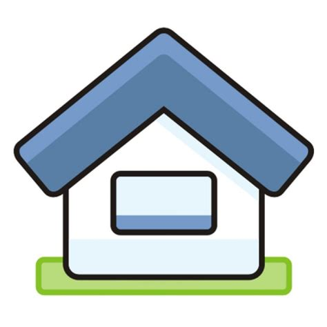 free cartoon house pictures house cartoon vector cartoon house icon with triangle layout vector free download