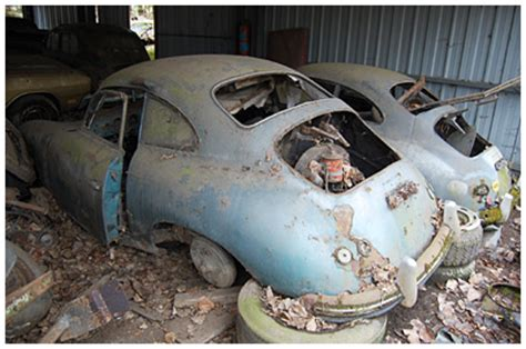 Motorrad Verkaufen Strassenverkehrsamt by Porsche 356 Autofriedhof G 252 Rbetal 17 200048