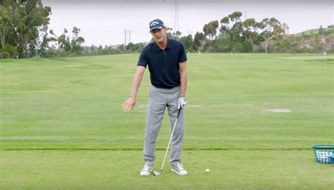 aj golf swing hank haney instruction stop hitting fat irons shots