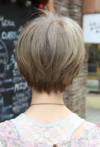 hairstyles for 50 back view back view of short haircuts for women
