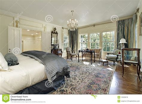 sitting room in bedroom master bedroom with sitting room stock photo image of