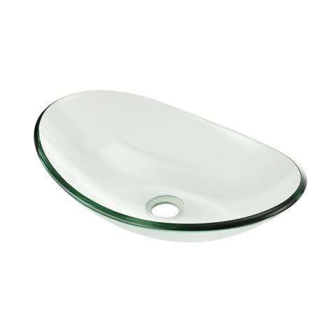 waschbecken glas neu haus 174 waschbecken oval waschschale glas waschtisch