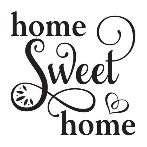 primitive stencil home sweet home 12x12 for painting