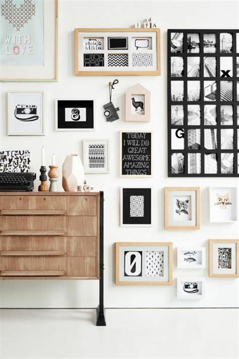 wand mit bildern gestalten moderne wandgestaltung kreative ideen und beispiele