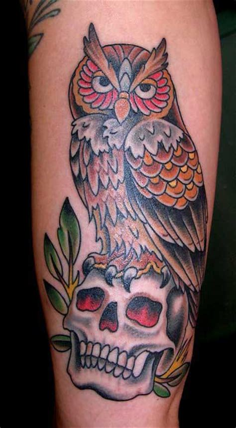 Tattoo Old School Hibou Signification | 187 old school