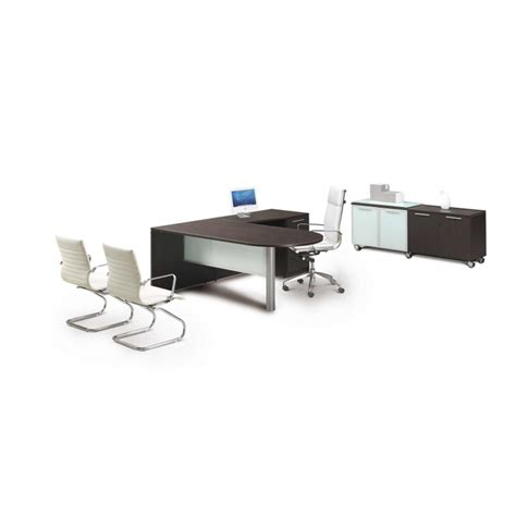 L Shaped Glass Desk L Shaped Desk With Glass Modesty