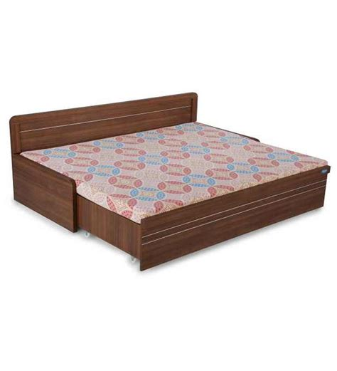 bed online nilkamal metro slider bed by nilkamal online wood framed