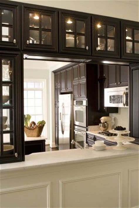 double sided kitchen cabinets kitchen pass through cabinets with double sided glass
