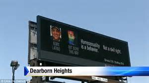 An Order From The Court To Send Up Records Is A Anti Marriage Billboard Striking A Nerve In Michigan Daily Mail