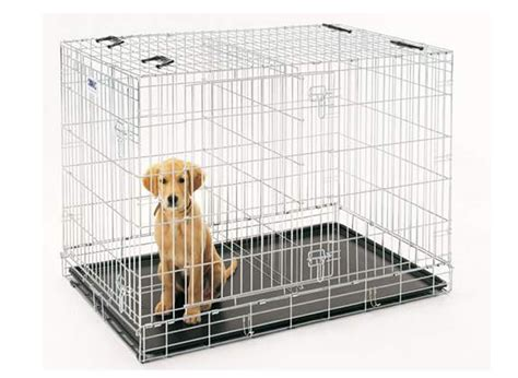 how to crate a puppy how to make a crate divider