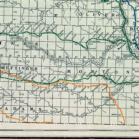 Dakota County Section 8 by Section 2 The Northern Pacific Railway In Dakota