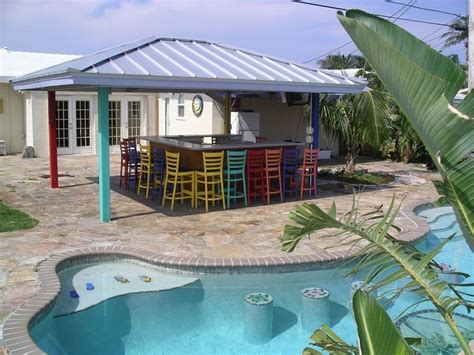 outdoor pool bar for the home