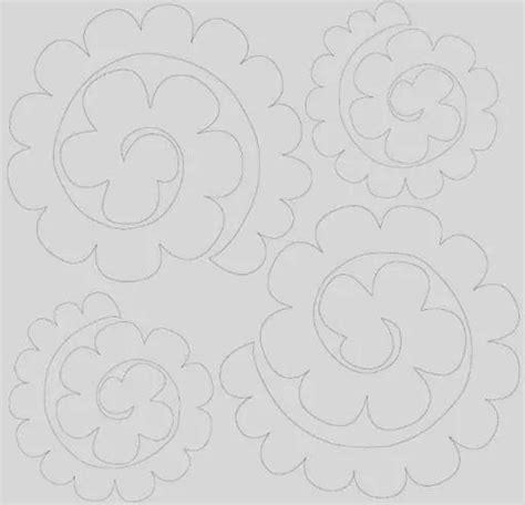 fiori di feltro schemi fiori di feltro cartamodello cerca con feltro