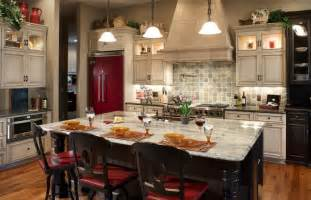 glittering custom kitchen island designs of white river