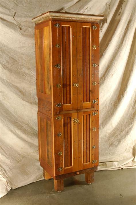 handmade salvaged fir pantry  jetwoodshop custommadecom