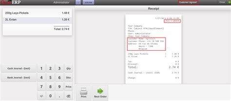 pos receipt template word user defined sequence in openerp 7 pos point of sale