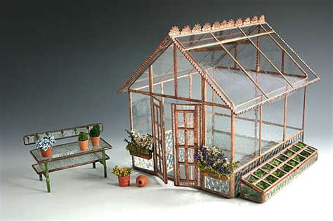 dollhouse greenhouse miniature greenhouse doll houses and miniatures