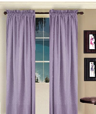 light purple curtains light purple long curtain set