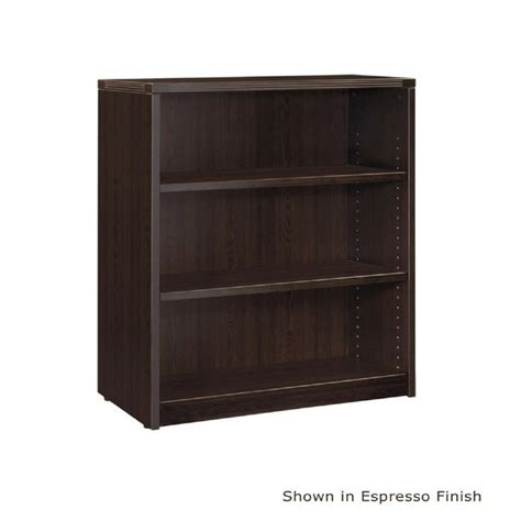 3 shelf bookcase 36 quot x14 quot x42 quot h espresso or laminate