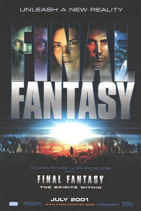 film final fantasy 1 final fantasy final fantasy the spirits within