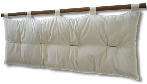 spalliera letto con cuscini testiera letto a cuscino bali basic con kit ancoraggio
