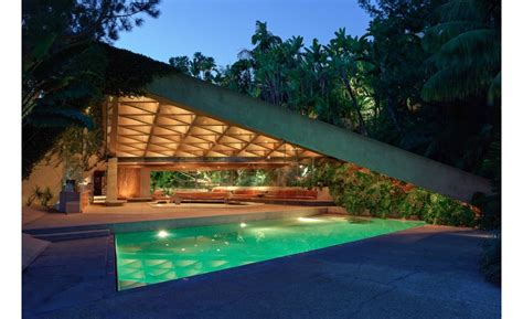 jimmy goldstein house lacma abides john lautner designed residence marks first gift of architecture to the