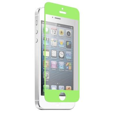 Znitro Nitro Glass Tempered apple iphone 5 znitro nitro glass tempered glass screen protector soft green ngip5sogr