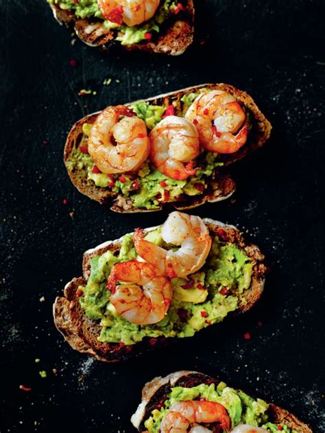 King Sandwich Open Reseller king prawn and guacamole open sandwich seafood guacamole sandwich recipes and