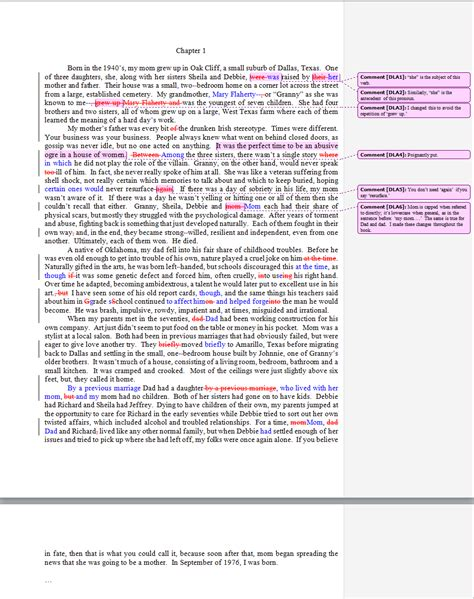 Memoir Template Book Manuscript Sle Images