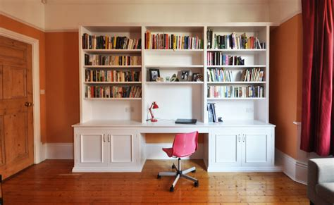 bookcase desk bookcases ideas computer desk with built in 4 shelf