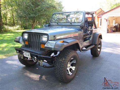 1988 Jeep Wrangler Yj 1988 Jeep Wrangler