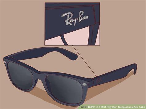 ways    ray ban sunglasses  fake wikihow