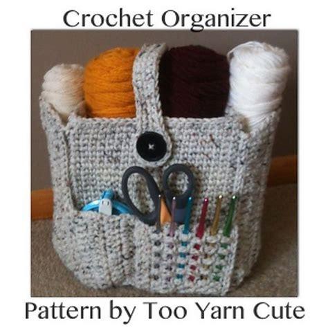 crochet pattern purse organizer crocheted organizer bag pattern by too yarn cute crochet