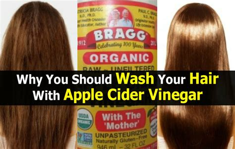 How To Detox Your Hair With Apple Cider Vinegar by Why You Should Wash Your Hair With Apple Cider Vinegar