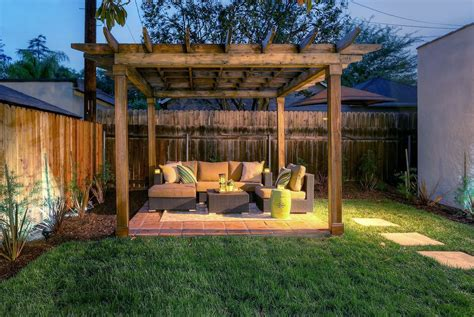 Exterior Patio Rustic Patio With Fence Exterior Terracotta Tile Floors