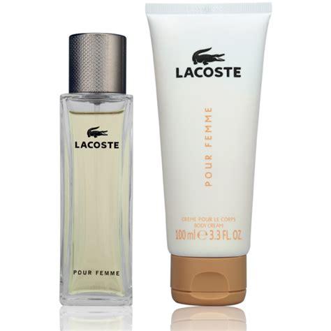 lacoste pour femme eau de parfum 50ml lotion 100ml