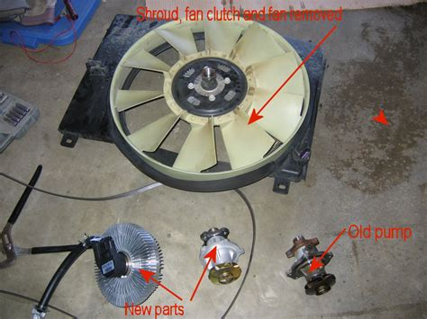 03 gmc envoy fan clutch how to install replace engine fan clutch chevy