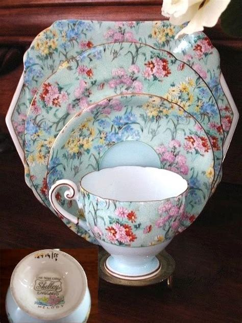 most popular china patterns of all time shelley china on hgtv ruby lane blog