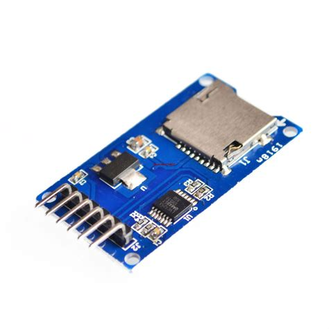 Modul Micro Sd Card Reader And Writer Arduino aliexpress buy micro sd card mini tf card reader module spi interfaces with level