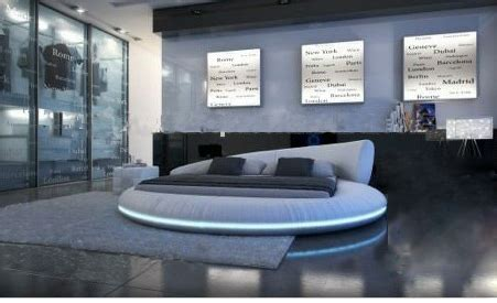 luxury extra large size  bedtop grain leather soft