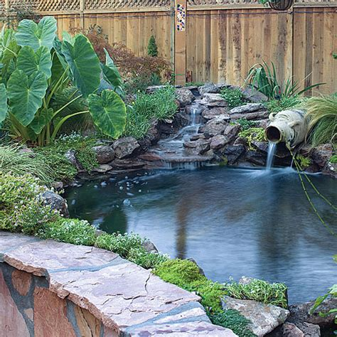 diy outdoor pond waterfall pool design ideas backyard makeover includes new path pergola and pond