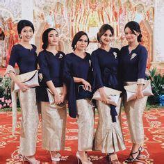 Kebaya Batik Rok Yudistira 10 model baju batik pesta wanita muslim modern s