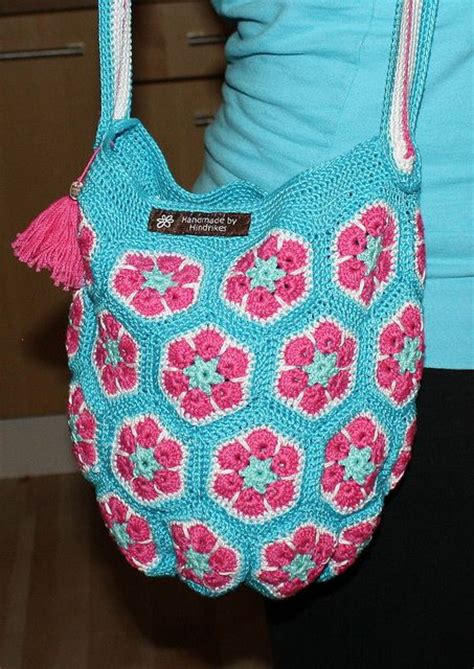 Tas Tote Flower 4 1000 images about crochet afrikan flowers on