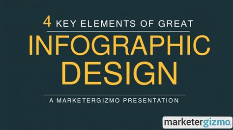 The Key Elements Of Great Resources by 4 Key Elements Of Great Infographic Design