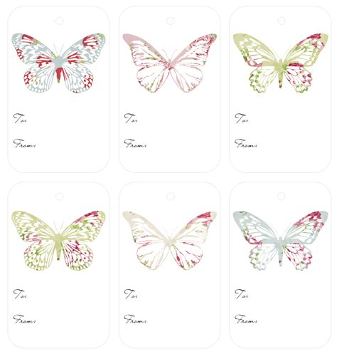 printable butterfly name tags butterfly name tags printable pictures to pin on pinterest
